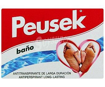 Peusek Tratamiento anti-transpirante pies baño 2 Sobres
