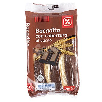 DIA Bocadito con cobertura al cacao Paquete 330 gr