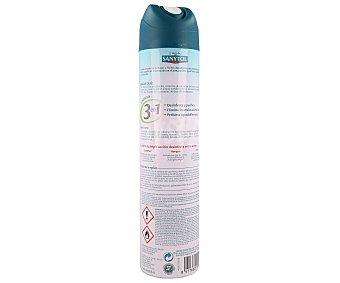 Sanytol Spray desodorizante y desinfectante de textiles y superficies y purificador de aire 300 mililitros