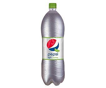 Pepsi Refresco de cola light a la lima Botella 2 litros