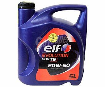 ELF Aceite mineral para vehículos gasolina y diésel 5 Litros