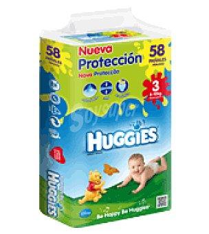 Huggies Pañal Mono Talla 3 (4-10kg) 58 ud