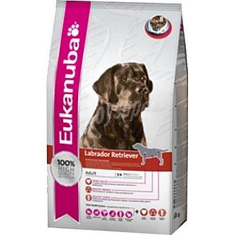 EUKANUBA LABRADOR RETRIEVER Alimento completo para perros de raza labrador retriever y chesapeake bay Bolsa 12 kg