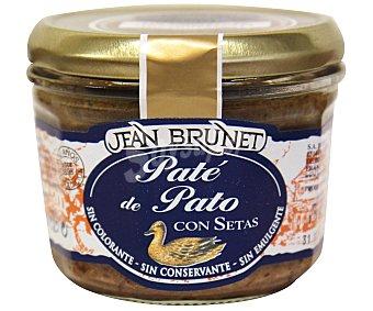 Jean Brunet Paté de pato con setas Tarro 180 g