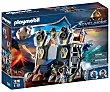 Escenario de juego Fortaleza móvil con accesorios y 2 figuras caballeros Novelmore 70391 playmobil.  PLAYMOBIL Novelmore 70391