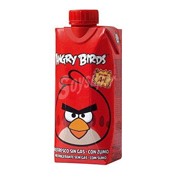 Angry Birds Refresco sin gas con zumo 33 cl