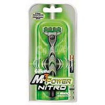 GILLETTE M3 Power Nitro Maquinilla Pack 1 unid