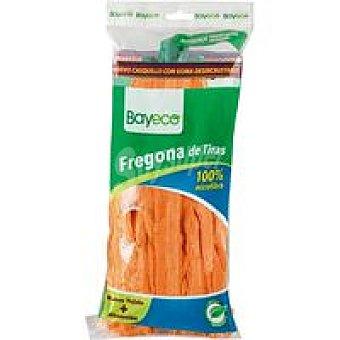 Bayeco Fregona de tiras de microfibra naranja Pack 1 unid