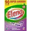 Detergente en polvo frescura lavanda Maleta 90 dosis Elena
