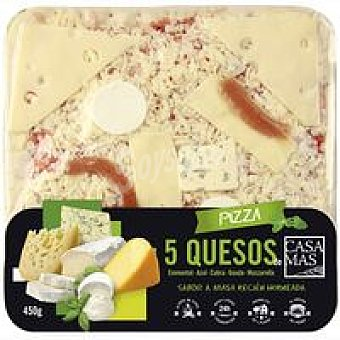 Casa Mas Pizza 5 Quesos 450 g