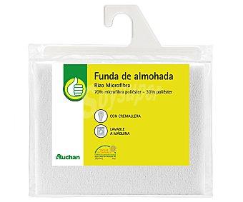 Productos Económicos Alcampo Funda protectora de almohada de microfibra, 70 centímetros 1 Unidad
