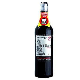 Yllera Vino tinto de la Tierra de Castilla y León Crianza Botella de 75 cl