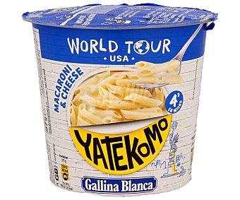 Yatekomo Gallina Blanca Macaroni & cheese world tour USA Vaso 97 g