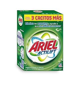Ariel Detergente en polvo Maleta 64 cacitos