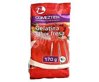 Comeztier Gelatina sabor a fresa 170 g