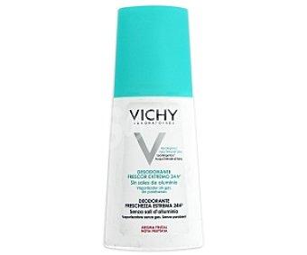 Vichy Desodorante, frescor extremo 24 horas sin sales de aluminio ,vaporizador sin gas, sin parabenes, 100 Mililitros