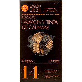 Sandro Desii Pasta erizos de salmón y tinta Paquete 250 g