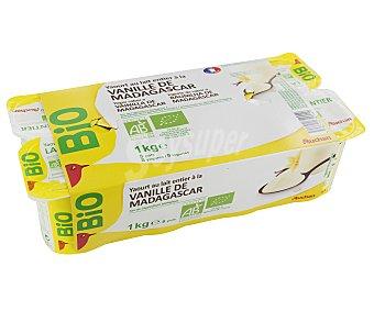 Auchan Yogur Vainilla Ecológico 8x125g