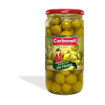Carbonell Aceitunas verdes sin hueso Tarro 340 g