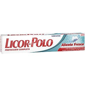Licor del Polo Pasta de dientes Aliento Fresco con fluor activo tubo 75 ml Tubo 75 ml
