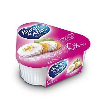 BURGO DE ARIAS Queso fresco light natural mini 0%  pack 3 envases 72 g
