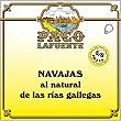 Navajas al natural de las Rías Gallegas 5-6 piezas lata 75 g lata 75 g Paco lafuente