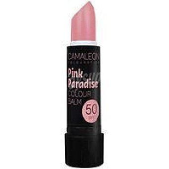 Camaleon Bálsamo labial con color Pink Paradise SPF50 Pack 1 ud