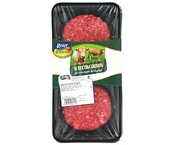 ROLER Summumm Burger meat de entrecot de aguja Bandeja de 240 gr pack de 2