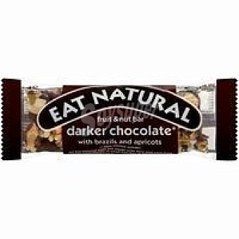 EAT NATURAL Barrita de chocolate negro 1 unid
