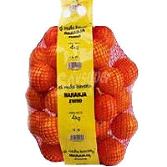 Naranja para zumo Caja 4 kg