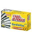 Sardinillas en aceite de girasol 7/10 60 g Cabo de Peñas