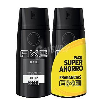 Axe Desodorante en spray Black 2 unidades de 125 ml