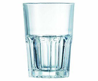 Productos Económicos Alcampo Vaso de agua modelo Circo, con capacidad de 27 centilitros y fabricado en vidrio 1 Unidad