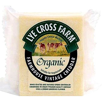LYE CROSS FARM Queso cheddar Envase 200 g
