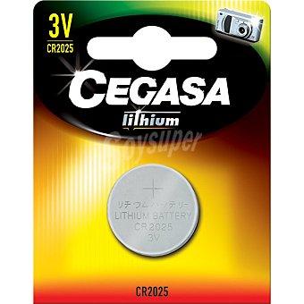 Cegasa CR2025 3 V pila especial de litio blister 1 unicad