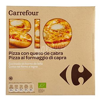 Carrefour Bio Pizza queso cabra ecológica 360 g