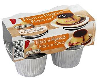 PRODUCTO ALCAMPO Flan de huevo elaborado con huevos frescos 4 x 100 g