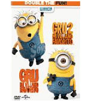 Gru mi Villano favorito 1+2 DVD