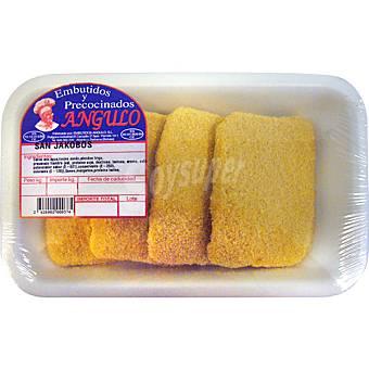 Embutidos y precocinados angulo San Jacobos ave peso aproximado bandeja 350 g Bandeja 350 g