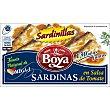 Sardinas en salsa de tomate 6/8 piezas Lata 63 gr Boya