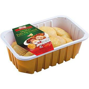 Coren Muslos de pollo de corral rellenos de bacon y queso peso aproximado bandeja 700 g 2 unidades