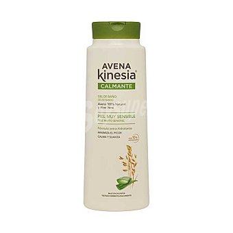Avena Kinesia Calmante gel de baño de avena 100% natural y aloe vera para piel muy sensible Bote 600 ml