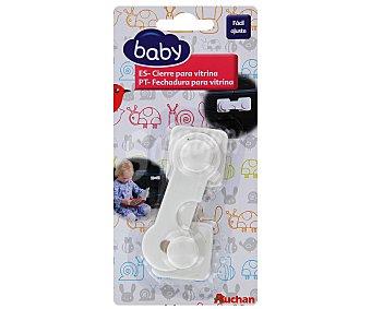 Baby Auchan Cierre para vitrina, fácil ajuste