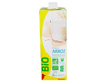 Auchan Bebida Arroz Ecológico 1L