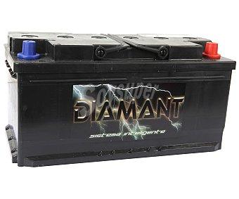 Diamant Batería de Automóvil de 12v y 92 Ah, Potencia de Arranque: 850 Amperios 1 Unidad