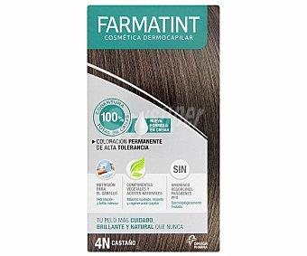 Farmatint Coloración en crema permanente 4-N Castaño 155 Mililitros