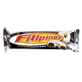Filipinos Artiach Galletas de chocolate bañadas en chocolate blanco Paquete 100 g