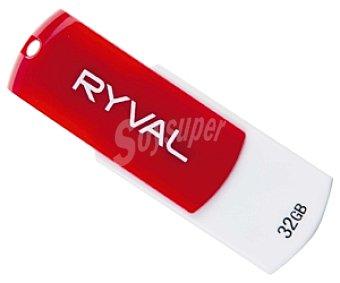 RYVAL Memoria USB Pendrive R360 32GB USB 2.0