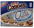 Mini cookies sin azúcares Pack de 4x30g Marbu Artiach