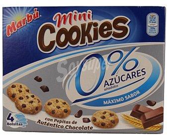 Marbu Artiach Mini cookies sin azúcares Pack de 4x30g